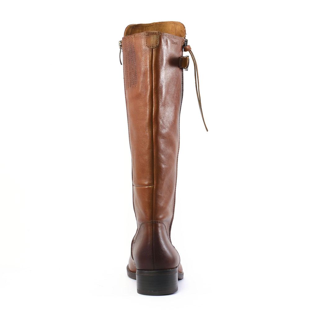 Bottes marron cuir
