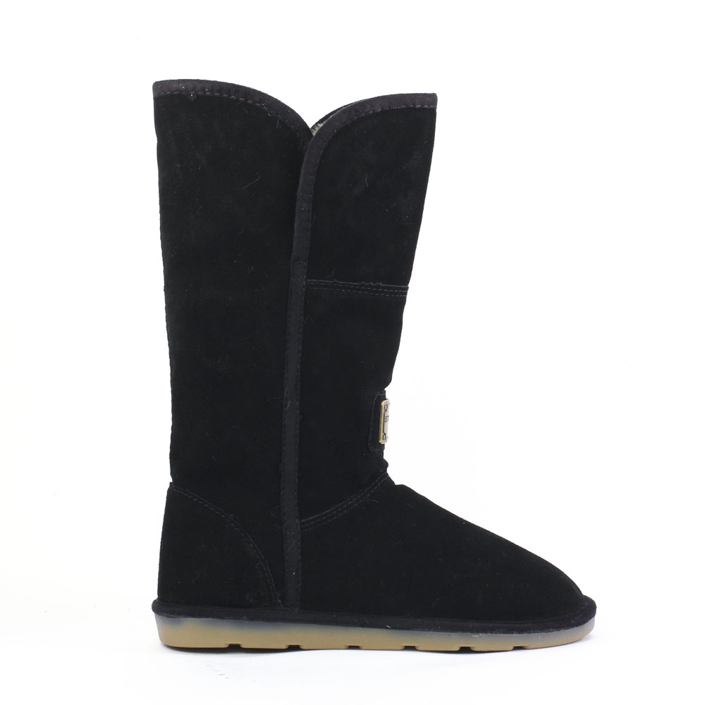 bottes noir mode femme automne hiver vue 2