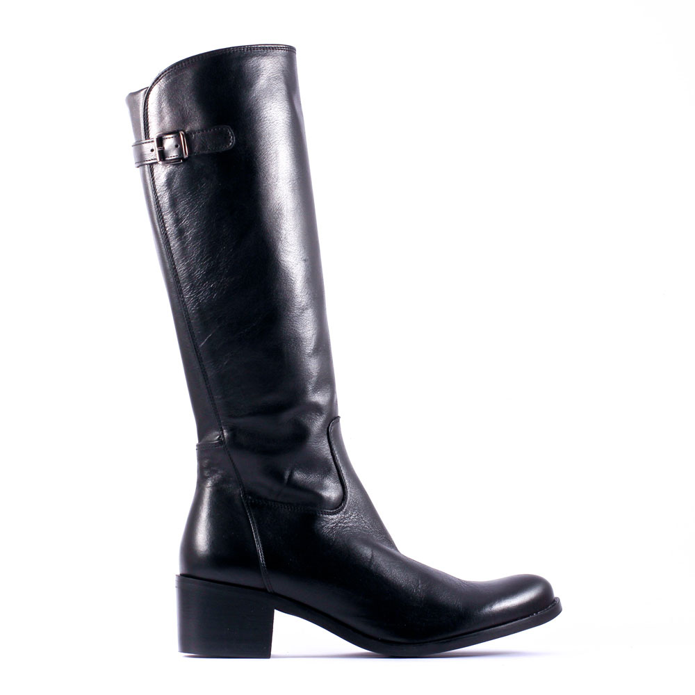 96d942e7164e Je veux trouver des bottes femmes de qualités pas cher ICI Bottes en cuir  noir pour femme