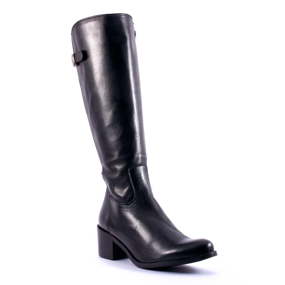 bottes noires femme talon 5 cm. Black Bedroom Furniture Sets. Home Design Ideas