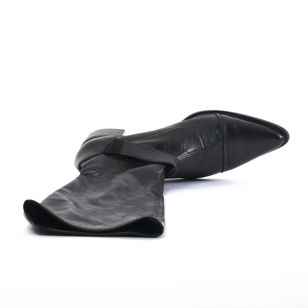 fugitive boney noir botte stretch noir automne hiver chez trois par 3. Black Bedroom Furniture Sets. Home Design Ideas