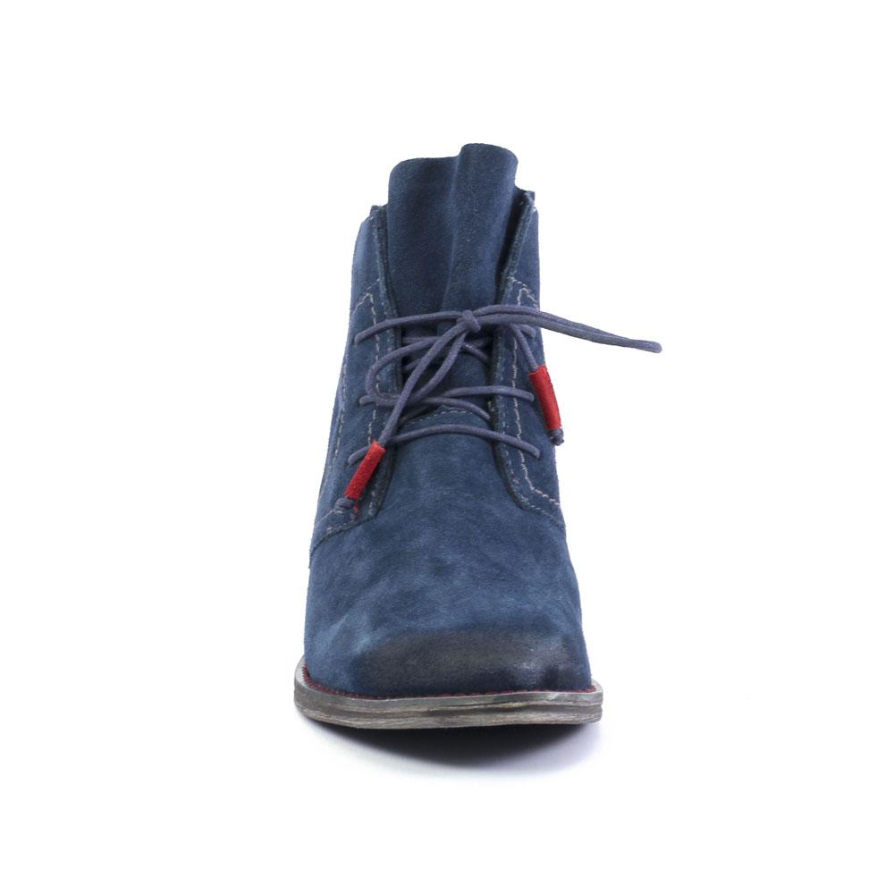 boots de la marque tamaris de couleur bleu marine bottines dt car interior design. Black Bedroom Furniture Sets. Home Design Ideas