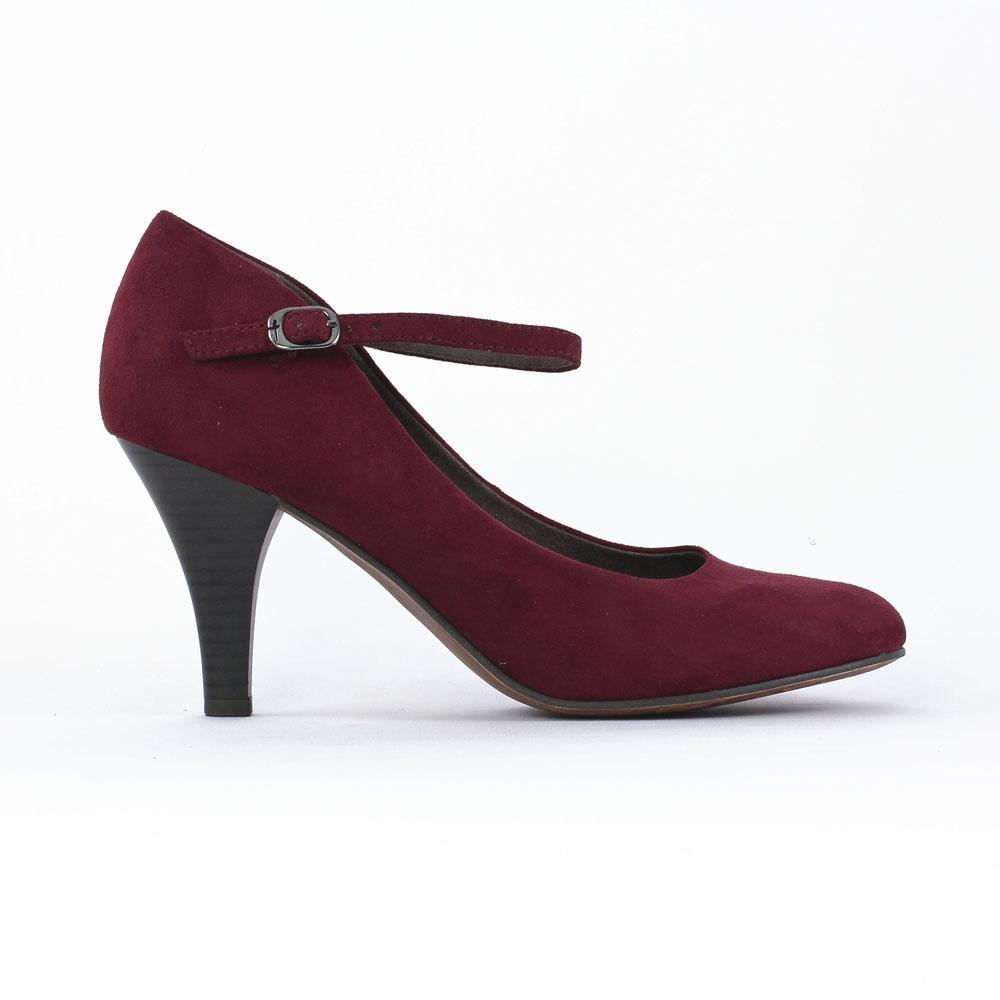 tamaris 24411 bordeaux escarpin brides rouge bordeaux. Black Bedroom Furniture Sets. Home Design Ideas