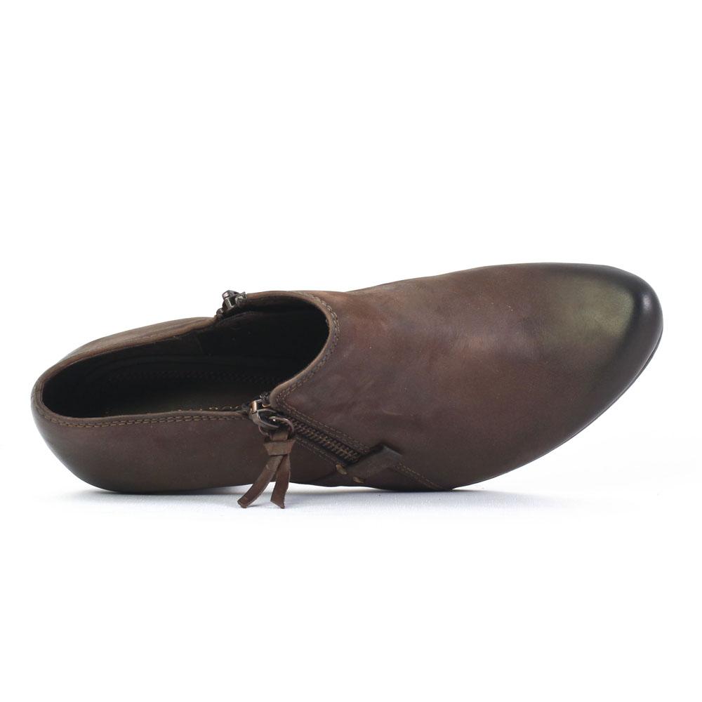 marco tozzi 24421 mocca low boots marron automne hiver. Black Bedroom Furniture Sets. Home Design Ideas