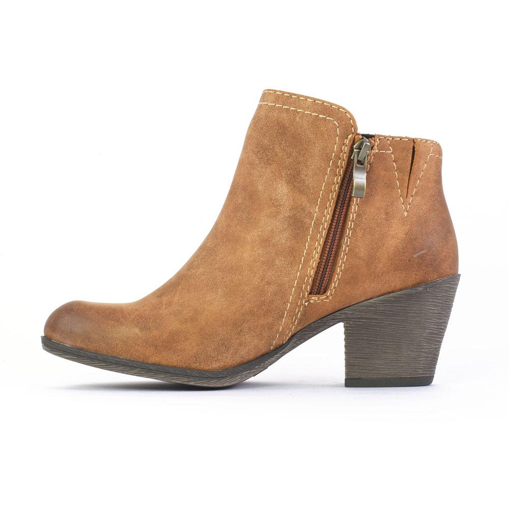 marco tozzi 25319 muscat | low boots marron automne hiver chez