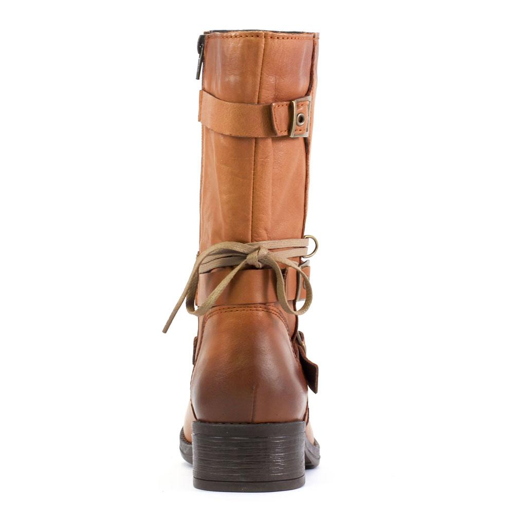 c0a5a0cc7eaf6 Scarlatine 2059 Cognac | mi-bottes marron claire automne hiver chez ...