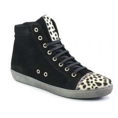 Chaussures femme hiver 2013 - baskets mode scarlatine noir