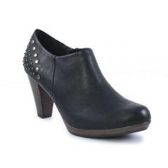 Chaussures femme hiver 2013 - low boots marco tozzi noir