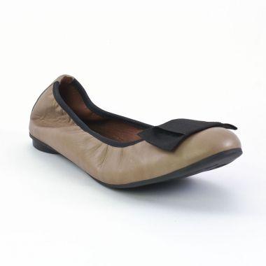Ballerines Scarlatine 7731 Nocciola, vue principale de la chaussure femme