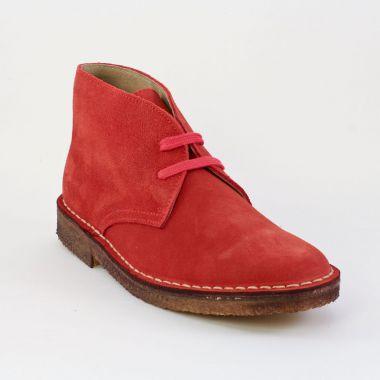 Bottines Et Boots Scarlatine Garrison Rosso, vue principale de la chaussure femme