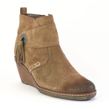 Bottines Et Boots Fugitive Mores Bison, vue principale de la chaussure femme