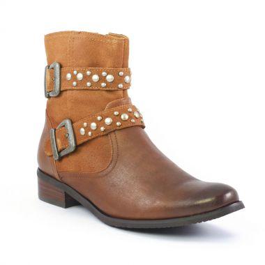 Bottines Et Boots Fugitive Reiner Cajou, vue principale de la chaussure femme