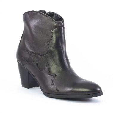 Bottines Et Boots Fugitive Jasco Noir, vue principale de la chaussure femme