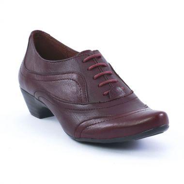 Chaussures À Lacets Scarlatine 4021 Bordeaux, vue principale de la chaussure femme
