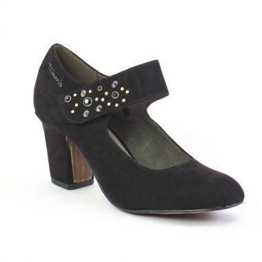 Escarpins Tamaris 24419 Black, vue principale de la chaussure femme