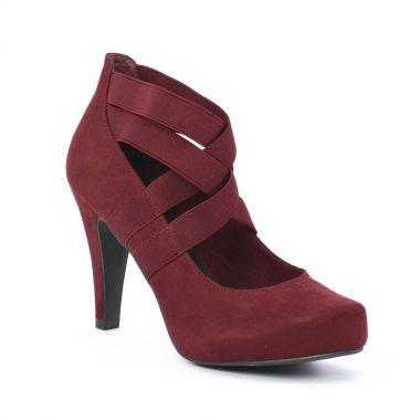 Escarpins Marco Tozzi 22418 Bordeaux, vue principale de la chaussure femme