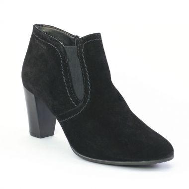 tamaris 25076 black low boots noir automne hiver chez trois par 3. Black Bedroom Furniture Sets. Home Design Ideas