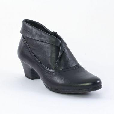tamaris 25319 black low boots noir automne hiver chez trois par 3. Black Bedroom Furniture Sets. Home Design Ideas