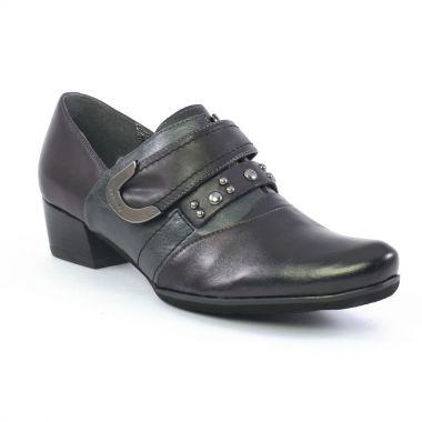 Escarpins Fugitive Chene Noir, vue principale de la chaussure femme