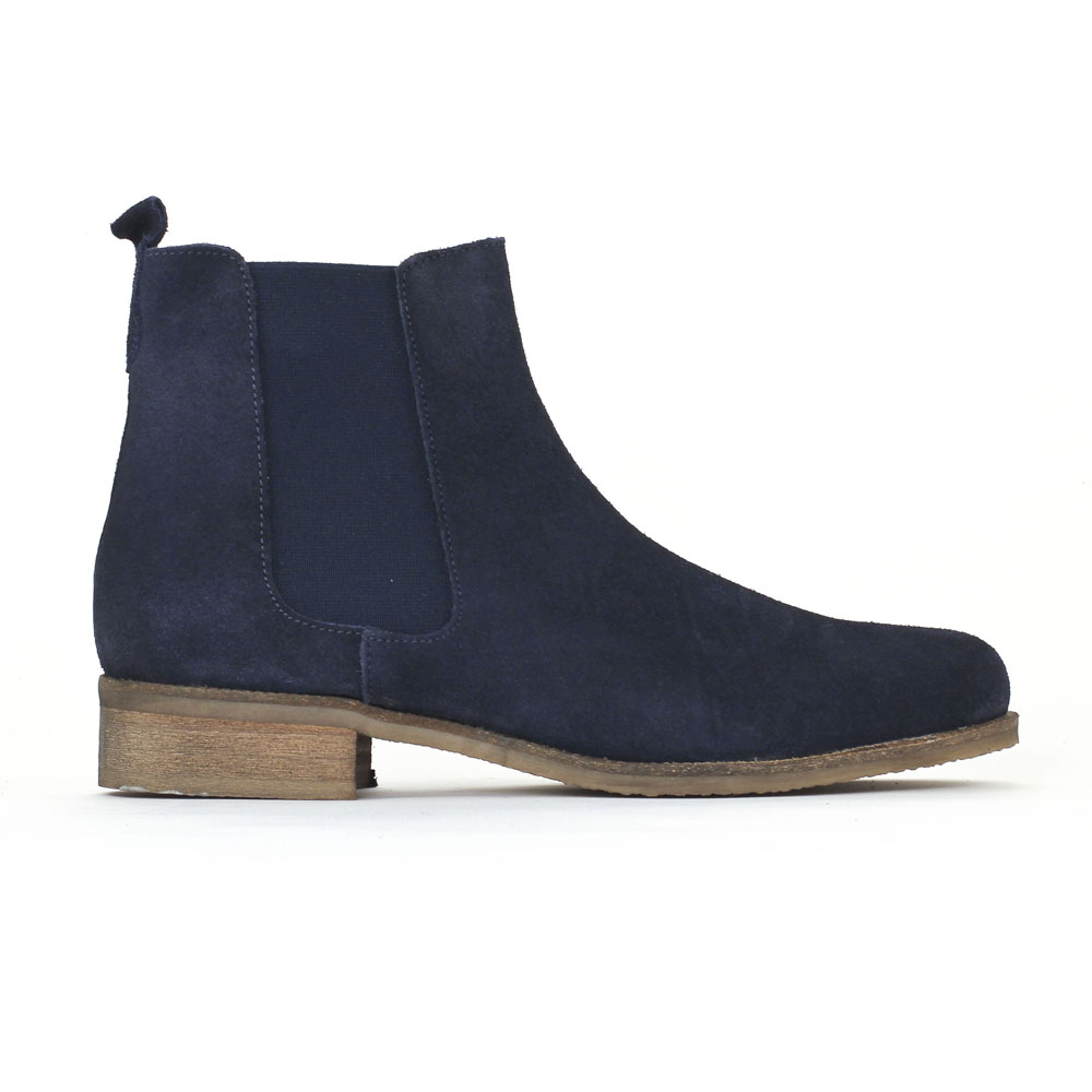 5a3ac7e5e06 Je veux trouver des boots femmes qui tiennent chaud et stylé pas cher ICI Bottines  femmes cuir bleu