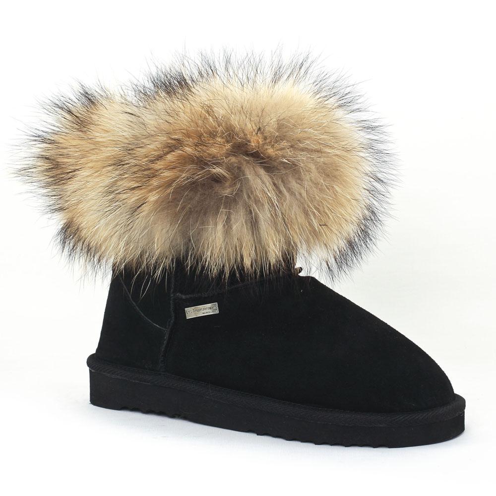 les tropeziennes fantine noir | boot fourrées noir automne hiver