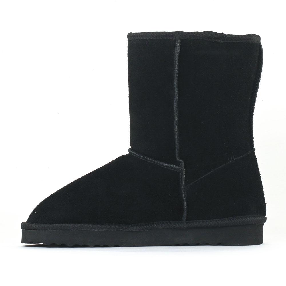 boots femme noire fourrées CIDls7qbP