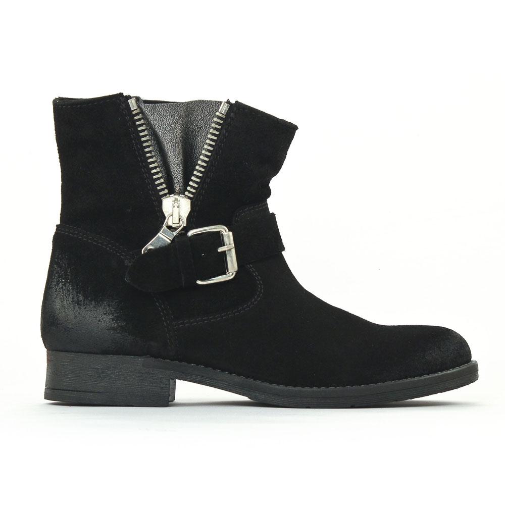 scarlatine 6108 noir boots noir automne hiver chez trois. Black Bedroom Furniture Sets. Home Design Ideas