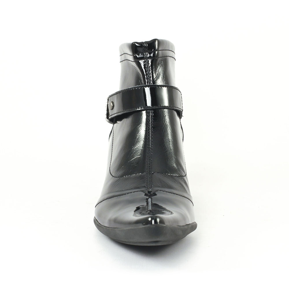 95ad14e03d82b8 UME - Matin d'Été Inova Vernis Noir | boots noir vernis automne ...