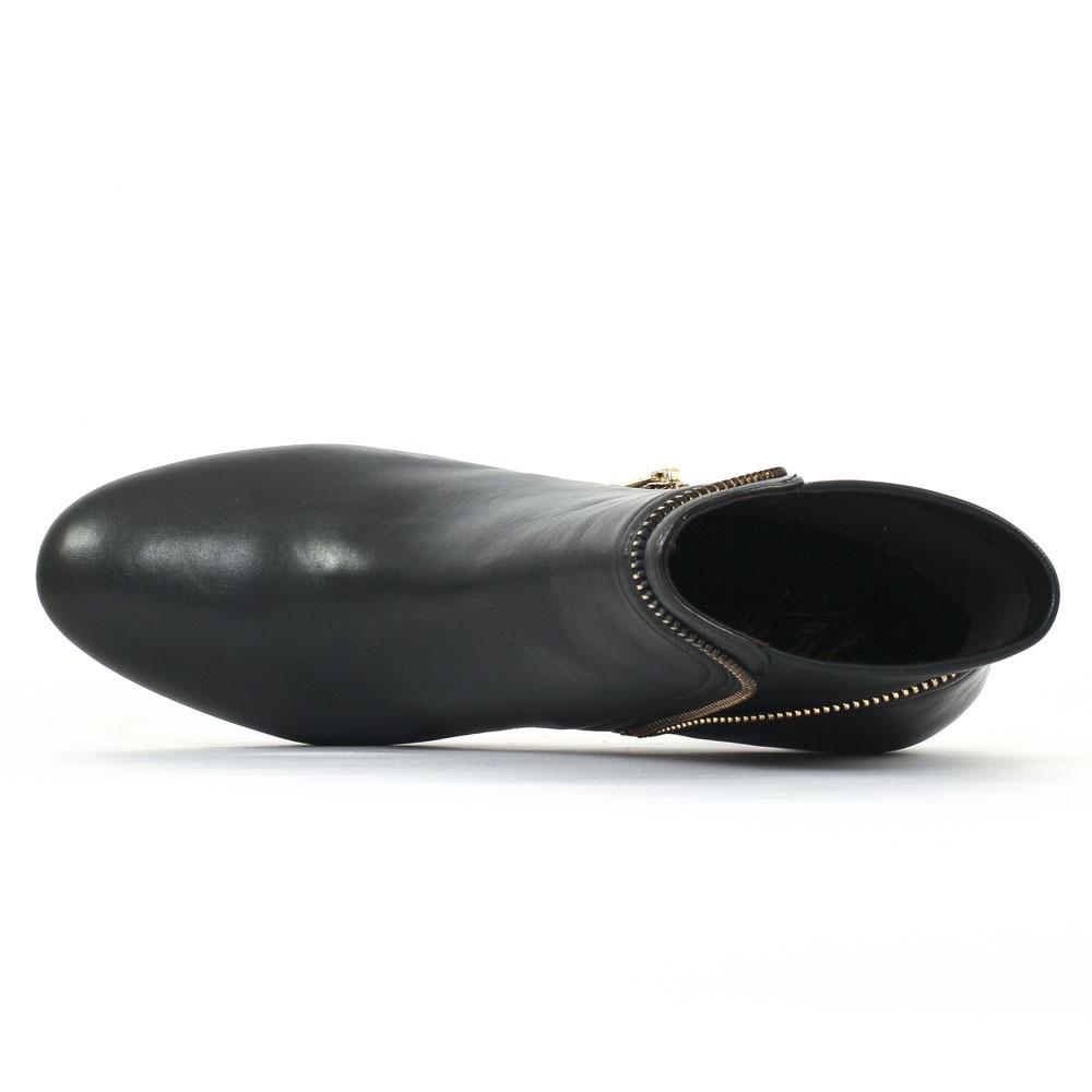 jb martin janice noir boot talon noir automne hiver chez trois par 3. Black Bedroom Furniture Sets. Home Design Ideas