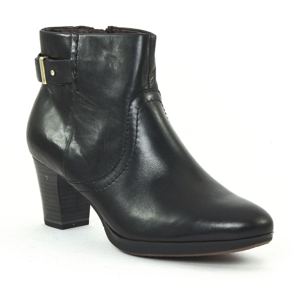 tamaris 25325 black boot talon noir automne hiver chez. Black Bedroom Furniture Sets. Home Design Ideas
