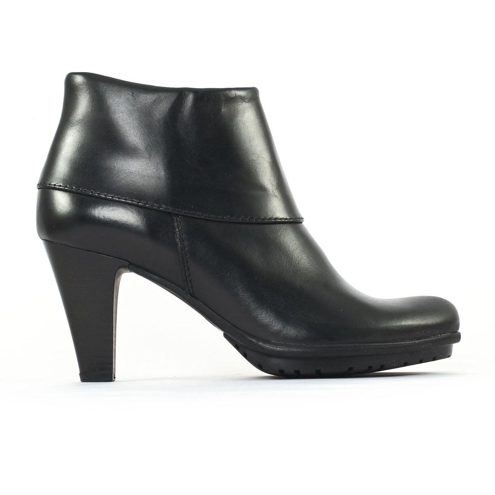 tamaris 25460 black boot talon noir automne hiver chez trois par 3. Black Bedroom Furniture Sets. Home Design Ideas