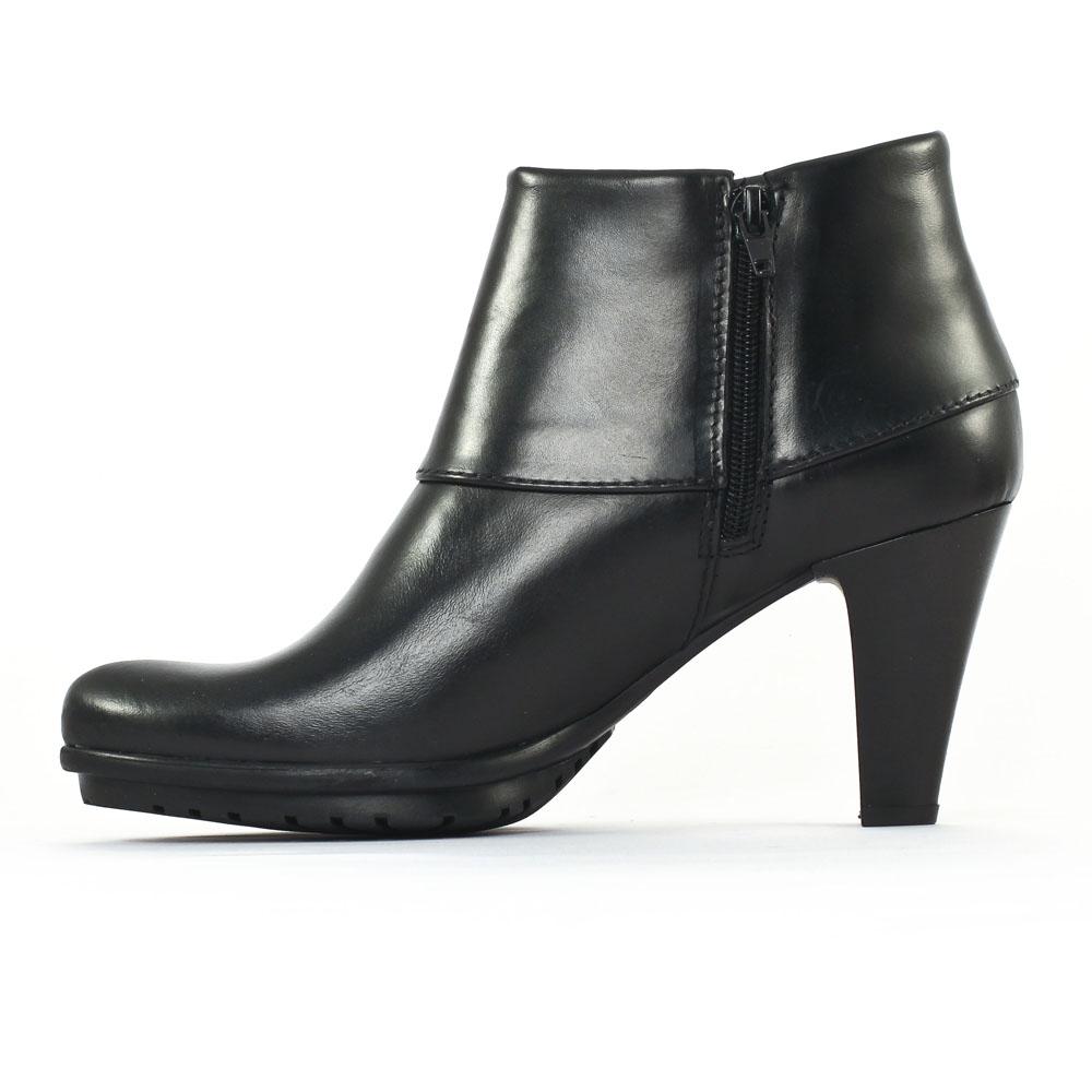 tamaris 25460 black boot talon noir automne hiver chez. Black Bedroom Furniture Sets. Home Design Ideas