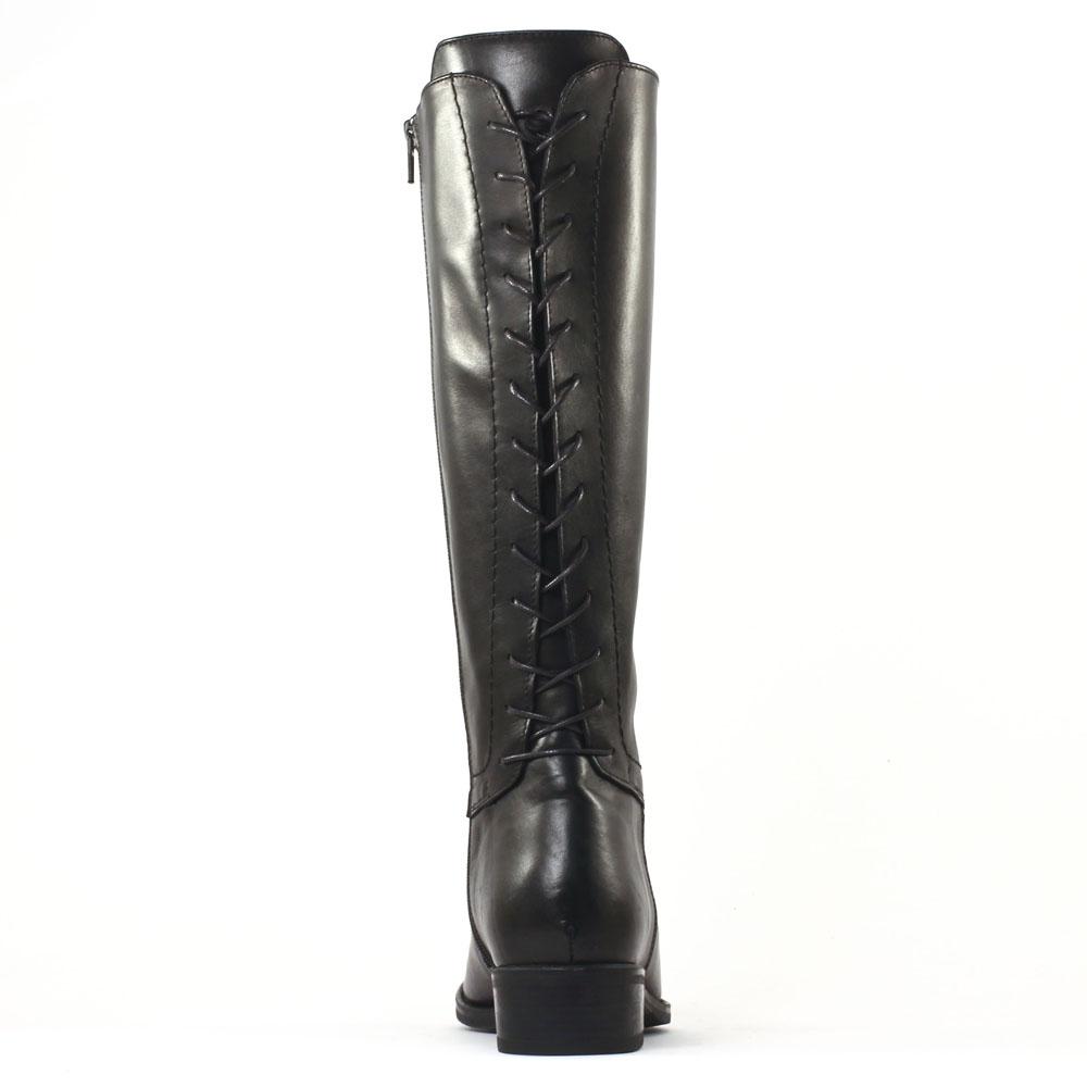 scarlatine svi50673 noir botte lacets noir automne hiver chez trois par 3. Black Bedroom Furniture Sets. Home Design Ideas