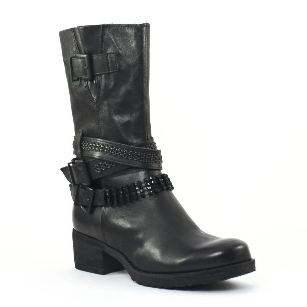 mamzelle doris noir bottes noir automne hiver chez trois par 3. Black Bedroom Furniture Sets. Home Design Ideas