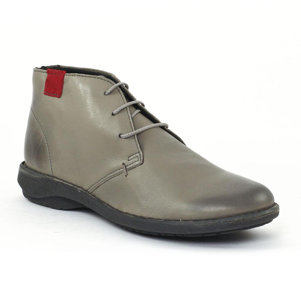 scarlatine co77317 gris rouge chaussure confort gris. Black Bedroom Furniture Sets. Home Design Ideas