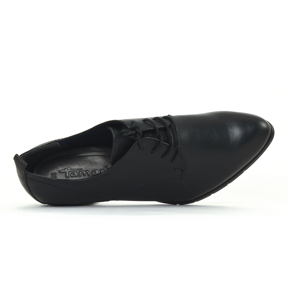 tamaris 23312 black chaussure confort noir automne hiver. Black Bedroom Furniture Sets. Home Design Ideas