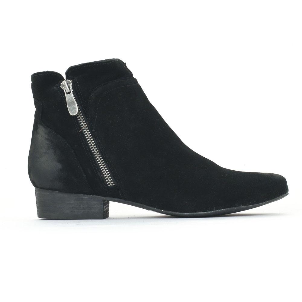 axell pavie noir | low boots noir automne hiver chez trois par 3