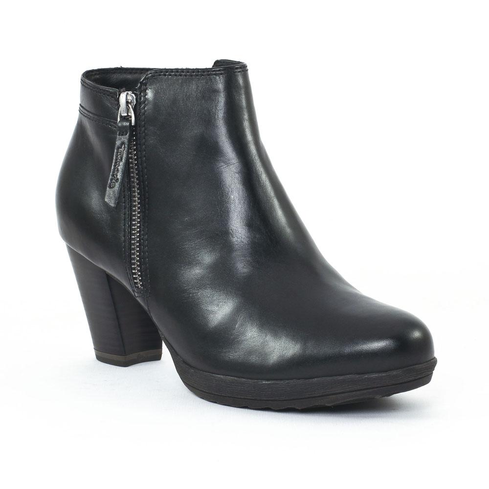 tamaris 25363 black low boots noir automne hiver chez trois par 3. Black Bedroom Furniture Sets. Home Design Ideas