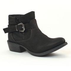 low-boots-confort noir: même style de chaussures en ligne pour femmes que les Rieker
