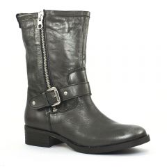 Chaussures femme hiver 2014 - mi-bottes Scarlatine gris