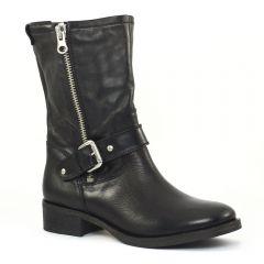 Chaussures femme hiver 2014 - mi-bottes Scarlatine noir