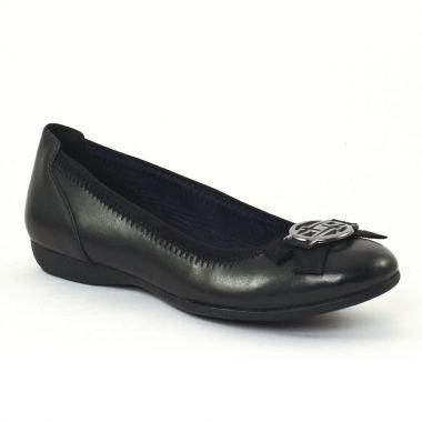 Ballerines Tamaris 22100 Black, vue principale de la chaussure femme