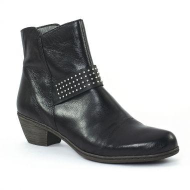 Bottines Et Boots Rieker 71461 Schwarz, vue principale de la chaussure femme