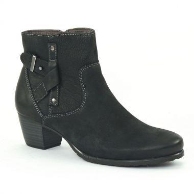tamaris 25308 black boot confort noir automne hiver chez trois par 3. Black Bedroom Furniture Sets. Home Design Ideas