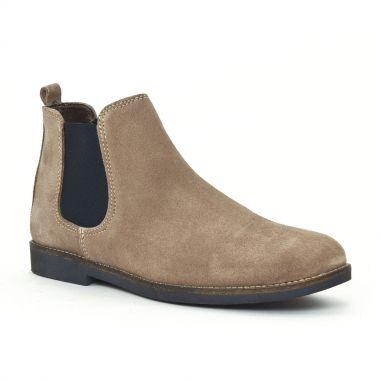 Bottines Et Boots Scarlatine 6127 Taupe, vue principale de la chaussure femme