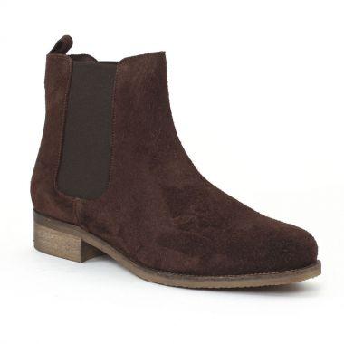 Bottines Et Boots Scarlatine co7051a Castagno, vue principale de la chaussure femme