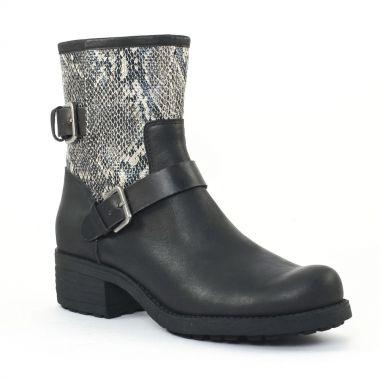 Bottines Et Boots Axell Panbo Noir, vue principale de la chaussure femme