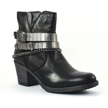 Bottines Et Boots Tamaris 25702 Black, vue principale de la chaussure femme
