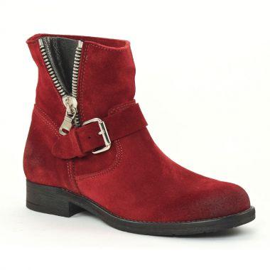 Bottines Et Boots Scarlatine 6108 Rouge, vue principale de la chaussure femme