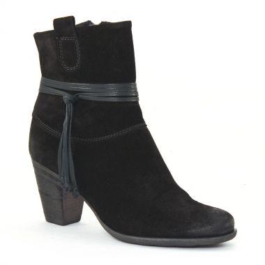 Bottines Et Boots Tamaris 25014 Black, vue principale de la chaussure femme